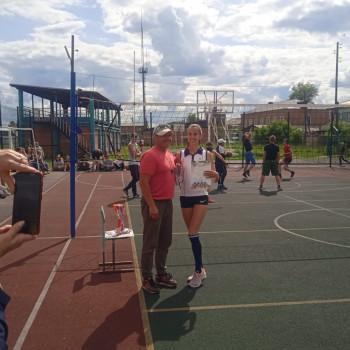 Команда девушек заняла 2 место на районной спартакиаде 26.06.2021